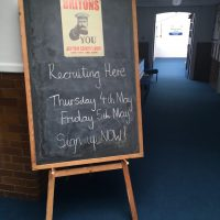 Tuesday 2nd May – getting ready for Thursday's launch event