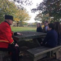Friday 26th October – WJS helps British Legion launch local poppy appeal